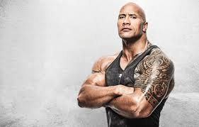 Wallpaper Background Man Tattoo Dwayne Johnson Dwayne Johnson