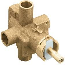 moe2510 posi temp tub shower valve rough in valve rough brass at fergusonshowrooms com