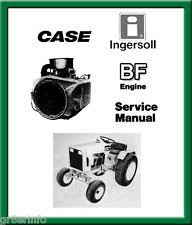 heavy equipment manuals books for onan case ingersoll tractor bf onan engine service repair manual searchable cd