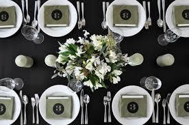 elegant black and white wedding black and white wedding table decoration ideas elitflat