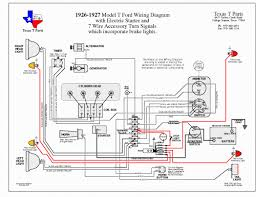 model a ford wiring diagram wiring diagram bronco technical reference wiring diagrams