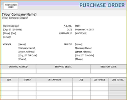 purchase order excel templates 6 excel purchase order template teknoswitch