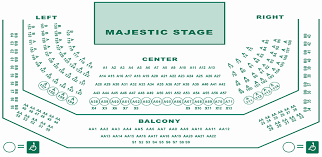 Rare Dallas Theater Seating Chart 2019