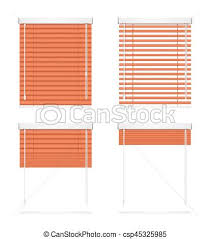realistic window drawing. realistic red window jalousie roller shutters blind set. vector - csp45325985 drawing