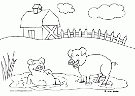 These small, portable cards are ideal for word this is a free printable, but please read our faq for full info about how you can use our materials. Farm Coloring Pages Free Coloring Home