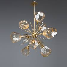 gem starburst chandelier 38 chb0039 0g
