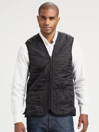 Barbour Quilted Vest in Black for Men | Lyst & Gallery Adamdwight.com