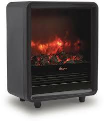 details about crane electric fireplace heater 1500 watt overheat protection automatic shut off