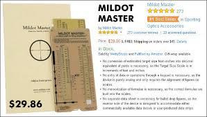 Mil Dot Chart Pdf Mildot Master Daily Bulletin