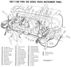 ford truck technical drawings and schematics section h wiring 1998 E150 Fuse Panel Wiring Diagram 1967 f 100 thru f 350 instrument panel 1967 master wiring diagram 1998 E350 Fuse Diagram