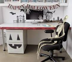 office halloween decorating themes. Wonderful Themes Halloween Is Only A Few Days Away And Itu0027s Never Too Late To Decorate  Adding Some Festive Pumpkins Ghosts Bats Your Office Arsenal An  In Office Decorating Themes B