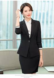 professional clothing 2019 professional wear womens suit 2018 autumn and winter ladies