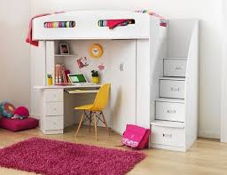 Best 25 Bed With Desk Underneath Ideas On Pinterest Girls Bed With Desk  Under