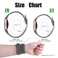 Fitbit Alta Wrist Size Chart For Fitbit Charge 2 Strap Bands Mornex Special Adjustable
