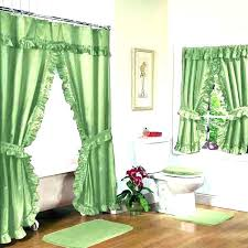 enchanting matching shower curtain and valance white shower curtain with matching window valance matching shower and