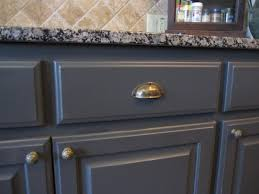black cabinet pulls on gray cabinets. dark grey kitchen cabinets, update with hardware. cabinet pulls black on gray cabinets