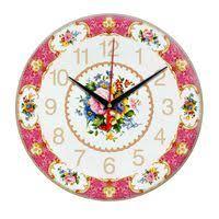 <b>Часы настенные стеклянные Time</b> Wheel для нанесения ...