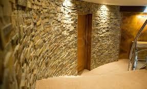 interior stacked stone veneer wall