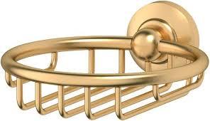 """<b>Мыльница</b>-<b>решетка 3SC</b> """"<b>Stilmar</b>"""", цвет: матовое золото. <b>STI</b> 306 ..."""