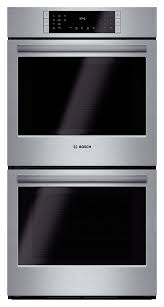 bosch 800 series 27 built in double electric convection wall oven stainless