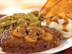 Znalezione obrazy dla zapytania chopped steaks