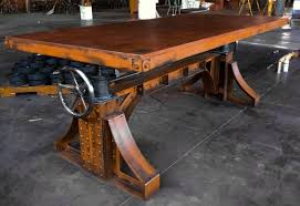 plan rustic office furniture. Decoration: What To Look In Industrial Office Furniture For Plan Rustic S
