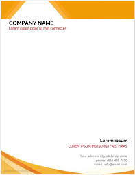 11 Best Business Letterhead Templates For Ms Word Word