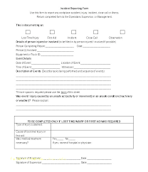 Accident Incident Report Template Filename Contesting Wiki
