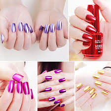 newest mirror metal nail gel polish long lasting nail gel soak off uv gel diy nail art