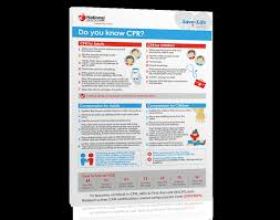 Free Printable Cpr Chart Free Cpr Steps Poster Nhcps Com