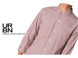 アーバンアウトフィッタ ーズ lark wolff by steven alan long sleeve stripe shirt