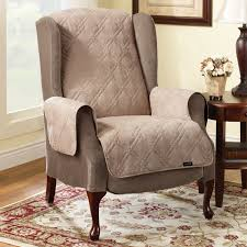 recliner wing chair covers. sure fit slipcovers pet throw quilted recliner cover wing chair covers l