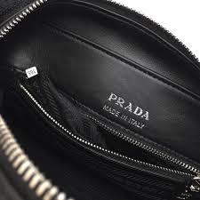 prada diagramme leather cross bag