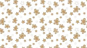 cute gingerbread background. Contemporary Cute Christmas Seamless Pattern Background With Cute Gingerbread And Stars  Stock Vector  86805386 On Cute Gingerbread Background G