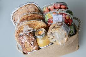 grocery gift basket by summerhill market