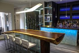 rustic bar lighting ideas home bar contemporary with live edge table rustic wood ta