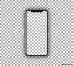 template phone smartphone mockup realistic mobile device template with