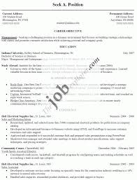Resume Example Of A Resume For Job 76 Images Free Examples Doc