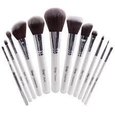 masterful collection makeup brush set white masterful collection makeup brush set white