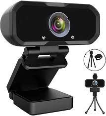 Amazon.com : Webcam 1080p HD Computer Camera - Microphone Laptop USB PC  Webcam with Privacy Shutter and Tripod Stand, 110 Degree Live Streaming  Widescreen Recording Pro Video Web Camera for Calling, Conferencing :