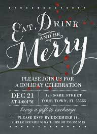 Christmas Party Flyer Templates Microsoft Create Christmas Party Invitation Free Holiday Party Invitations