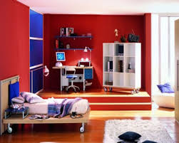 Kids Room  Comfortable Boy Bedroom Design With Blue Beach Sky - Boys bedroom idea