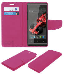 Xolo A500s Flip Cover by ACM - Pink ...