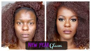 2016 new year makeup tutorial acne e hyperpigmented dark skin