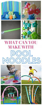 you can make so many fun and useful things with only a pool noodle this collection of ideas and crafts will show you how what can you make