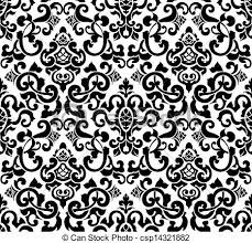 Silhouette Patterns Adorable Pattern Silhouette Clipart