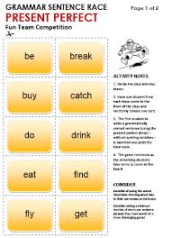 Tenses In English Grammar Chart With Examples Pdf Free Download Present Perfect Simple All Things Grammar