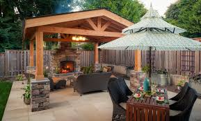 hip roof patio cover plans. Covered Concrete Patio Designs Landscaping Gardening Ideas Hip Roof Cover Plans