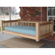 hanging daybed swing. Wonderful Hanging Tang Cedar Traditional Style Hanging Daybed Swing Throughout F