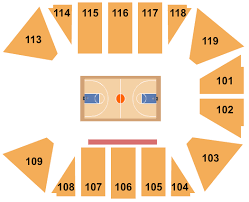 Vines Convocation Center Seating Chart Lynchburg